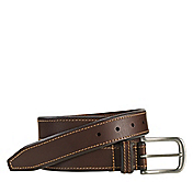 CONTRAST-STITCH BELT