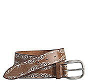 PAINTED SWIRL BELT