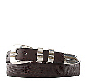 LIZARD-GRAIN RANGER BELT