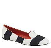 RILEY AWNING-STRIPE SLIPPER