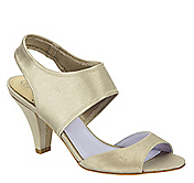 EVIE TWO-PIECE STRETCH SANDAL