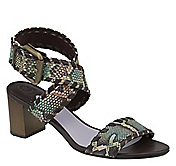 KALLIE WHIPSTITCH ANKLE STRAP
