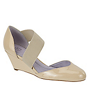CARRIE STRETCH MARY JANE WEDGE