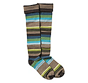 MULTI-STRIPE WOOL-BLEND BOOT SOCKS