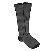 RIBBED MELANGE  BOOT SOCKS