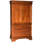 2 Door 3 Drawer Armoire