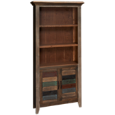 Antique Multicolor Bookcase