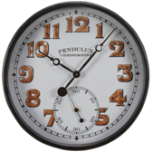 Billiard Wall Clock-Round-Station