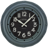 Billiard Wall Clock-Round Charcoal