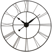 Wall Clock-Skyscraper