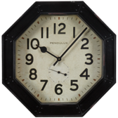 Billiard Wall Clock-Octagon-Diner