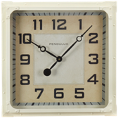 Billiard Wall Clock-Gas Station Cream