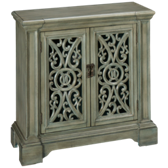Renee Carved Door Cabinet