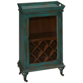 Paul 1 Door Wine Cabinet
