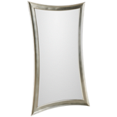 Leaner Mirror-Antique Silver