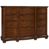 12 Drawer Tall Dresser