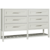 Clearwater 6 Drawer Dresser