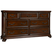 Messina Estates 7 Drawer Dresser