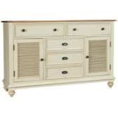 5 Drawer 2 Door Dresser