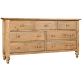 Homecoming Pine 7 Drawer Dresser