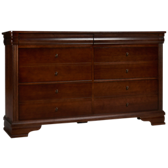 French Market 6 Drawer Dresser
