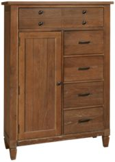 1 Door, 5 Drawer Chest