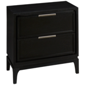 Luxe 2 Drawer Nightstand