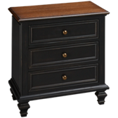 Ravenwood 3 Drawer Nightstand