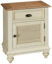 1 Door 1 Drawer Nightstand