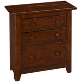 Homecoming 3 Drawer Nightstand