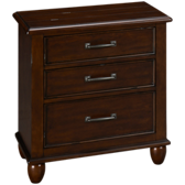 Carolina 3 Drawer Nightstand