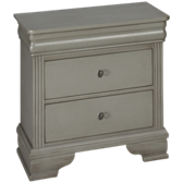 French Market 2 Drawer Nightstand