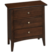 Gatherings 3 Drawer Nightstand
