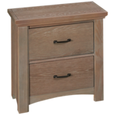 Transitions 2 Drawer Nightstand