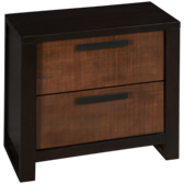 Olympia 2 Drawer Nightstand