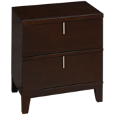 Legend 2 Drawer Nightstand