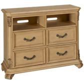 Messina Estates 4 Drawer Media Chest