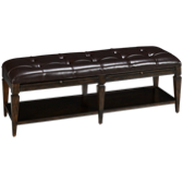 Classics Leather Bench