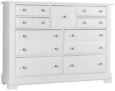 cottage 9 drawer dresser furniture