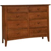 Gatherings 8 Drawer Bureau
