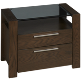 Montreal 2 Drawer Nightstand