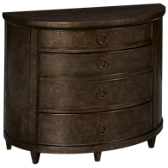 Demilune Hall Chest