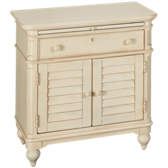 2 Door 1 Drawer Nightstand