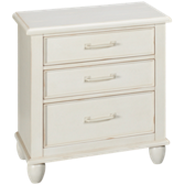 Carolina Preserves 3 Drawer Nightstand