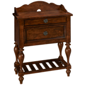 Southern Pines 2 Drawer Nightstand