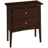 Gatherings 2 Drawer Nightstand