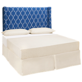 Charleston Queen Slipcovered Headboard