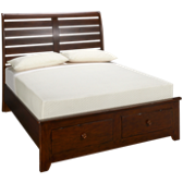 Queen Sleigh Bed with Underbed Storage