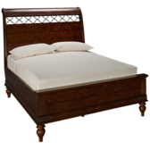 Southern Pines Queen Sleigh Bed