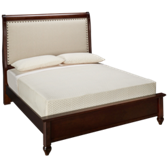French Market Upholstered Low Profile Queen Bed